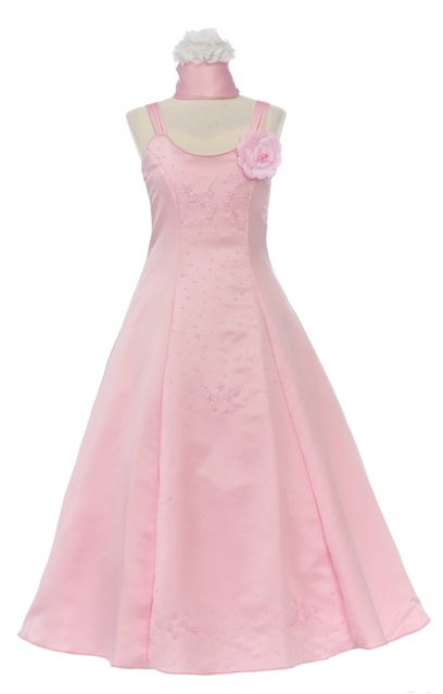 A-Line Formal Dress for Girls