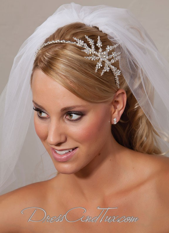 Snowflake Tiara  IB2857  -  79.99   Dress and Tux.com 471a57c7de6
