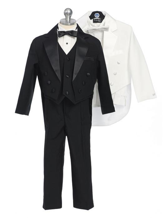 Boy\'s Tux with Tails and Vest