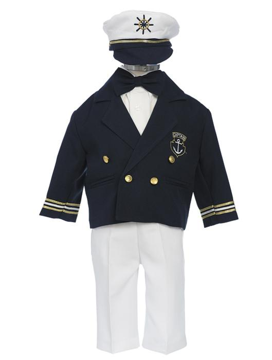 Boys Captain Sailor Suit