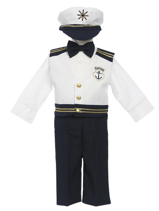Boys Sailor Vest Set