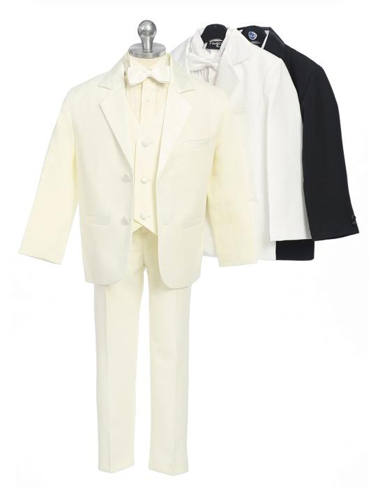 Boys Jacket Tuxedos with Vest