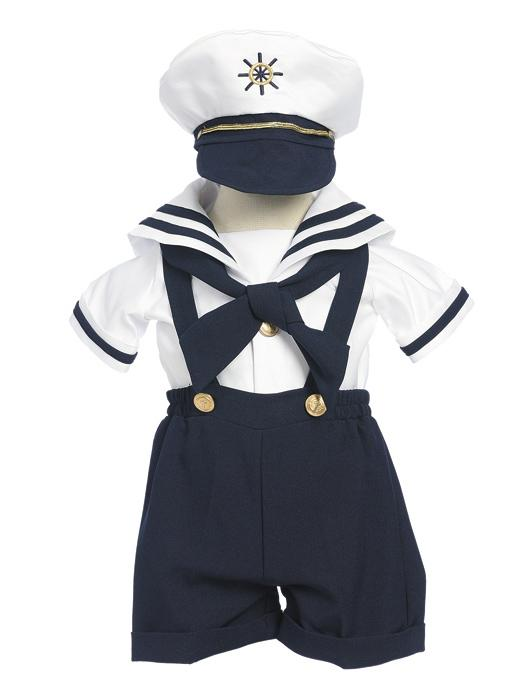 Infant/Toddler Sailor Short Suit Set