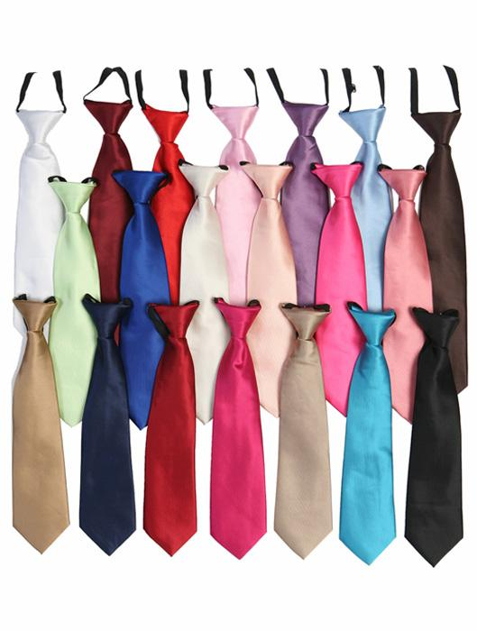Boys Suit Ties Assorted Colors