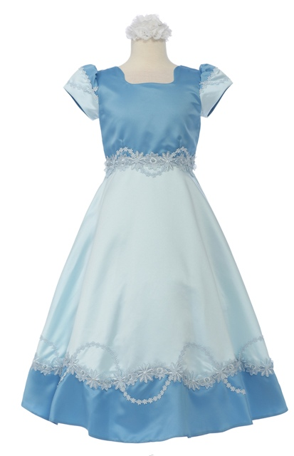 Fancy Flower Girl Dress - Click Image to Close
