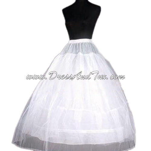 Tulle and Taffeta Wedding Dress Slip