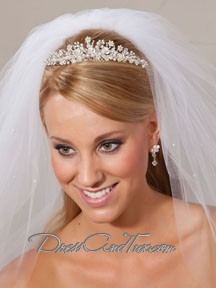 Beautiful Tall Wedding Tiara