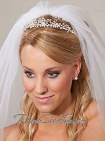 Princess Rhinestone Silver Wedding Tiara