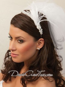 Single Feather Tiara