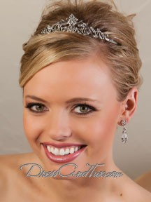Antique Silver Princess Tiara