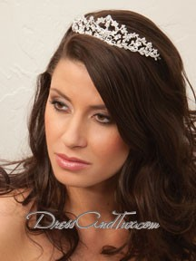 Princess Crown Silver Tiara